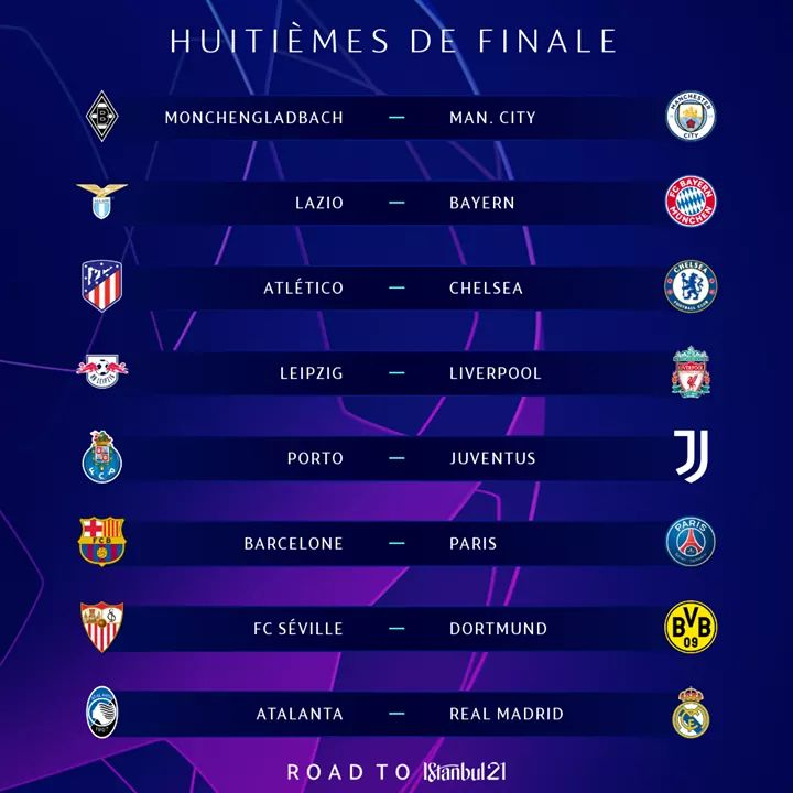 Ligue des champions : le Paris SG va retrouver le FC Barcelone en huitième de finale