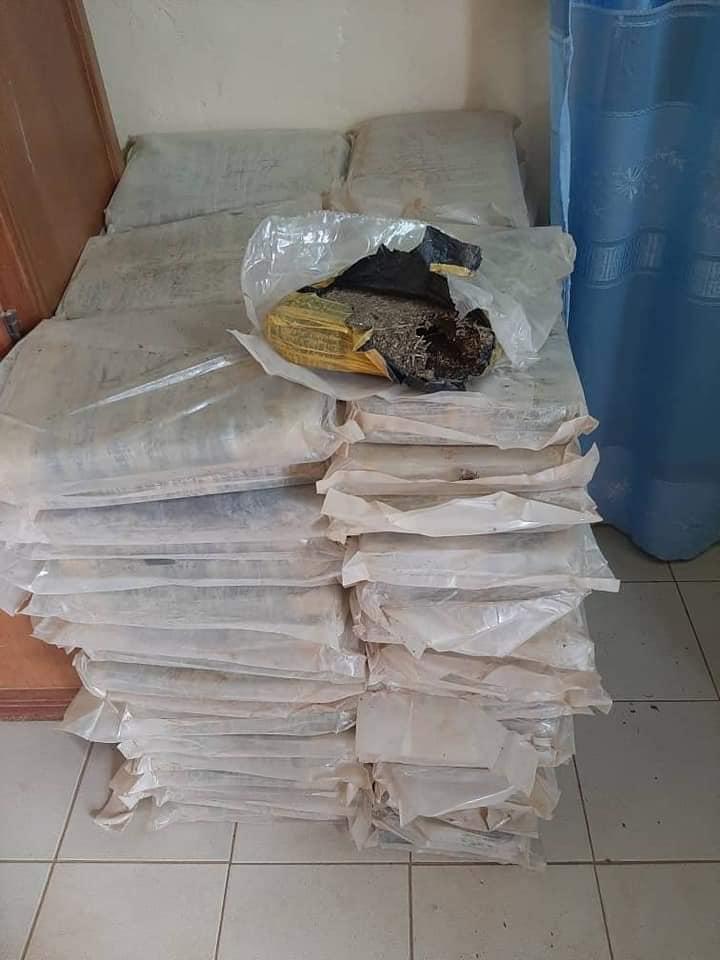 OUROSSOGUI: La gendarmerie saisit 200 kilos de chanvre indien