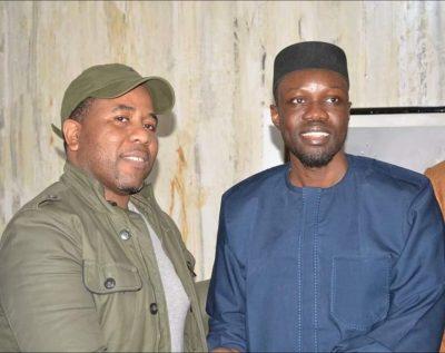 "Photos - Soutien à Sonko: Bougane Gueye Dany a rendu visite à son ""grand frère"""