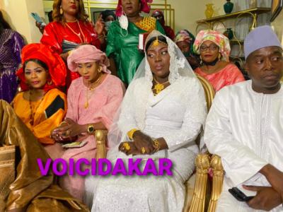 Vidéo et Photos - Alkhaïry: Les images exclusives du Mariage de Adjia Sy PCA grand théâtre devenue Madame Gaye….