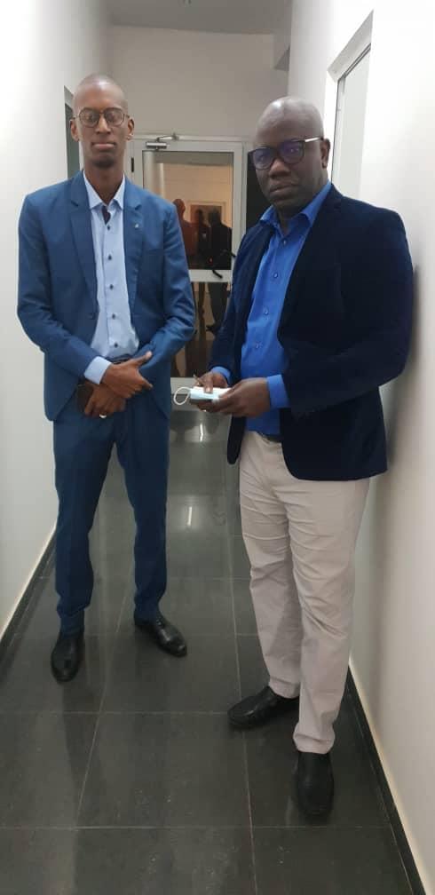 Images exclusive: Ahmed Aidara avec le capitaine Touré