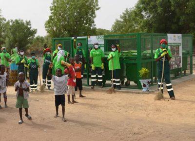 Kaffrine : Le Ministre de l'Urbanisme procède au lancement du plan d'urgence de nettoiement et d'aménagement de la ville