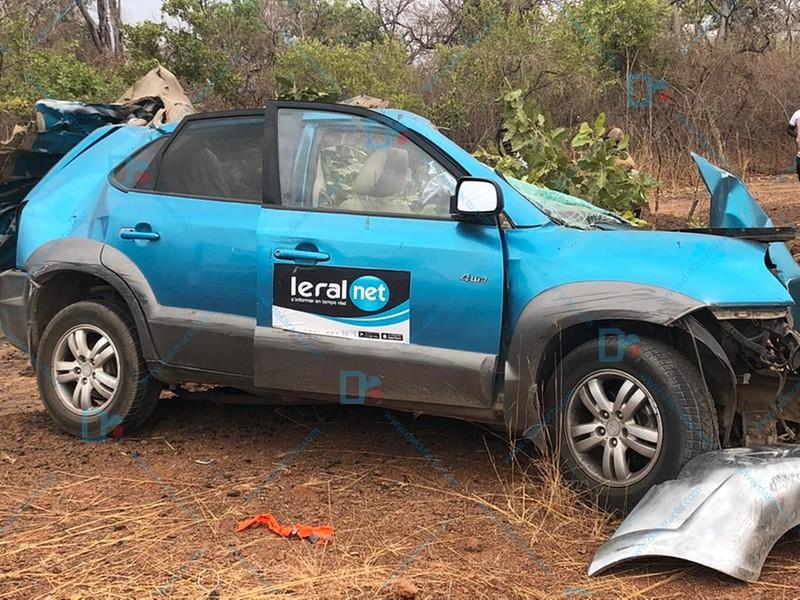 Kédougou : 3 journalistes de Léral du cortège présidentiel meurent dans un accident de voiture
