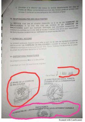 Affaire Nianning: le document qui dément le maire Magatte Sène