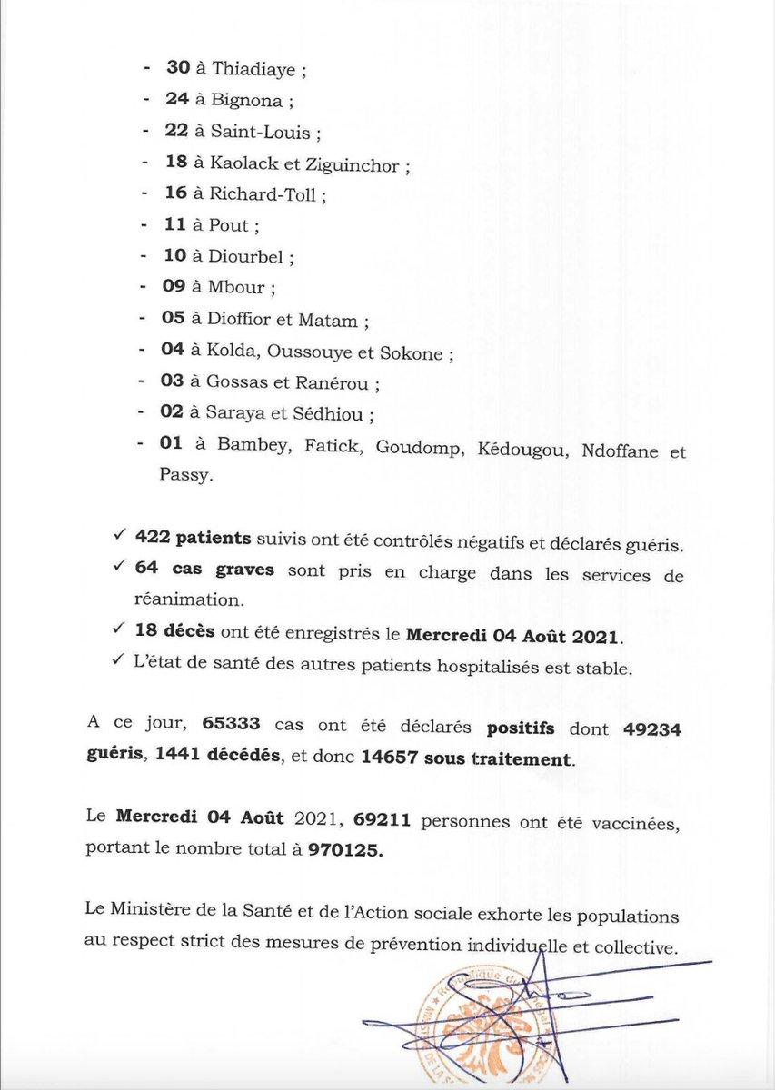 Covid-19 : 811 nouveaux tests positifs, 18 décès ce jeudi